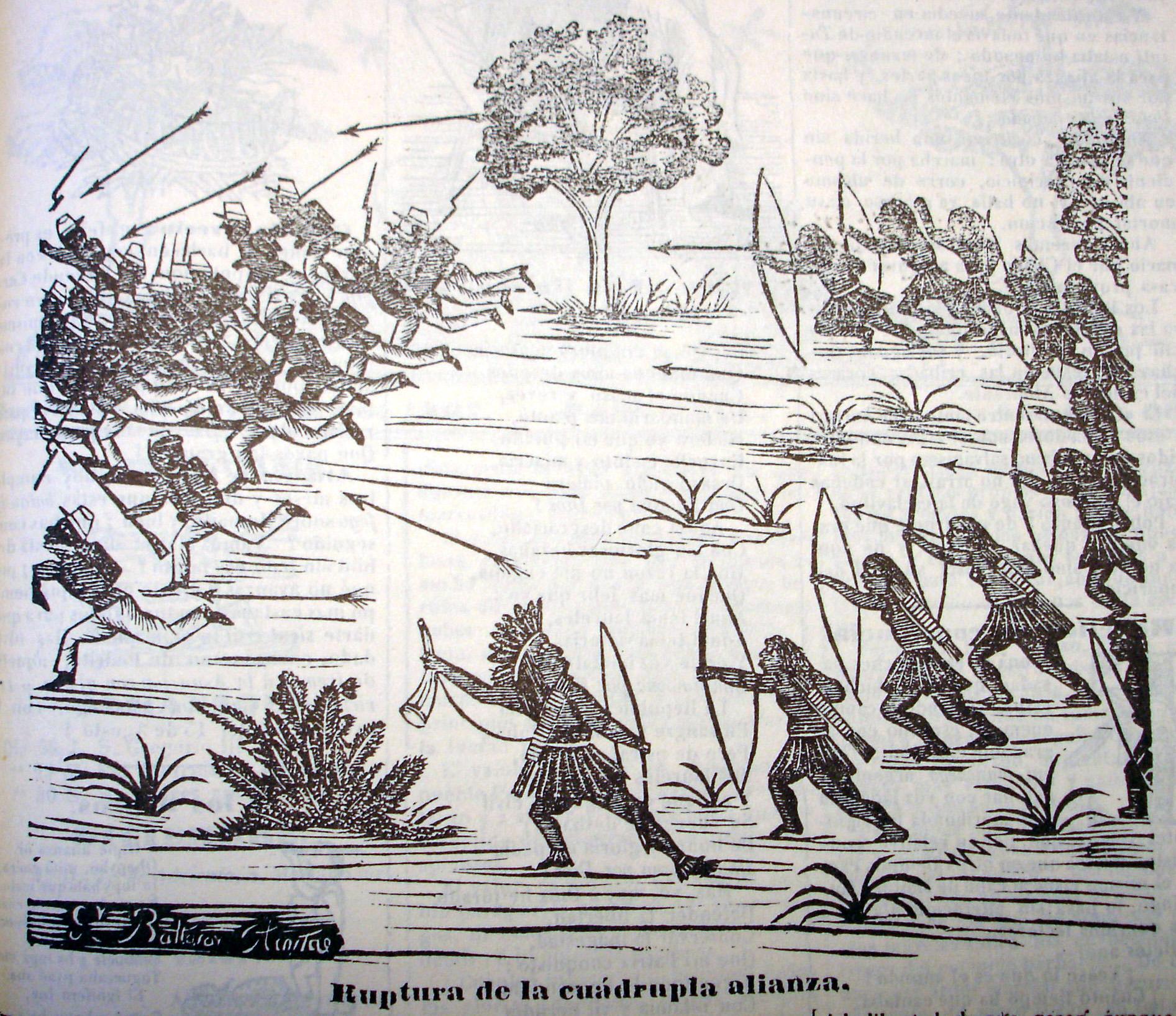 Cabichuí, prensa paraguaya, 23 de noviembre 1867.